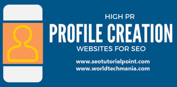 profile creation website list
