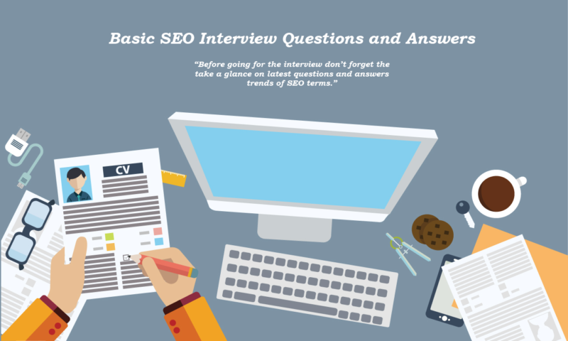 SEO Tutorial Point provides top SEO interview questions and answers for beginners, fresher and experts. Learn all these basic SEO questions and answers