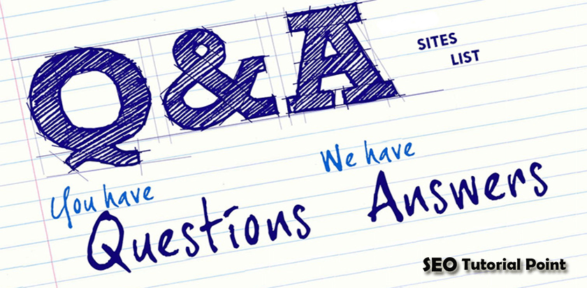 Question and Answer Website List | Best Q&A Sites
