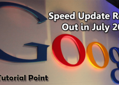Mobile Search Ranking: Google Speed Update Rolling Out in July 2018