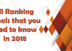 Ranking Signals that you need to know in 2018