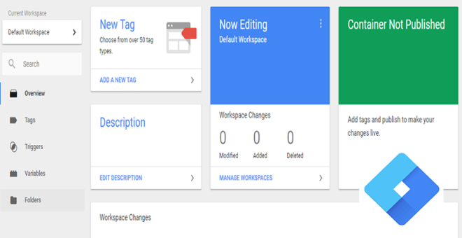 learn to create a google tag manager account
