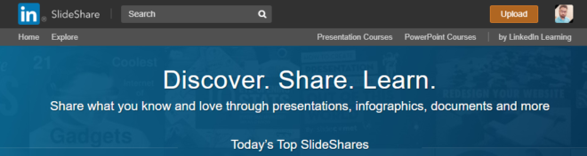 slideshare infographic site