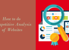 Learn How to do Competitive Analysis of Websites