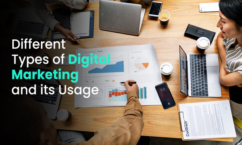 Different Types of Digital Marketing